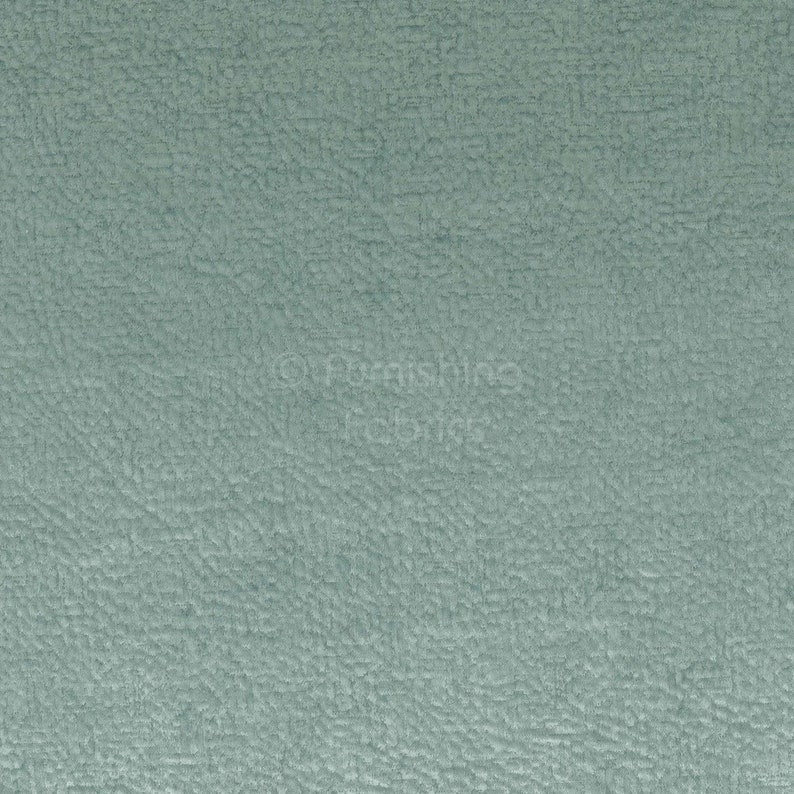 New Furnishing Upholstery Luxury Quality Soft Textured Velvet Fabric In Baby Blue Colour For Sofas Curtains Sold By The Metre