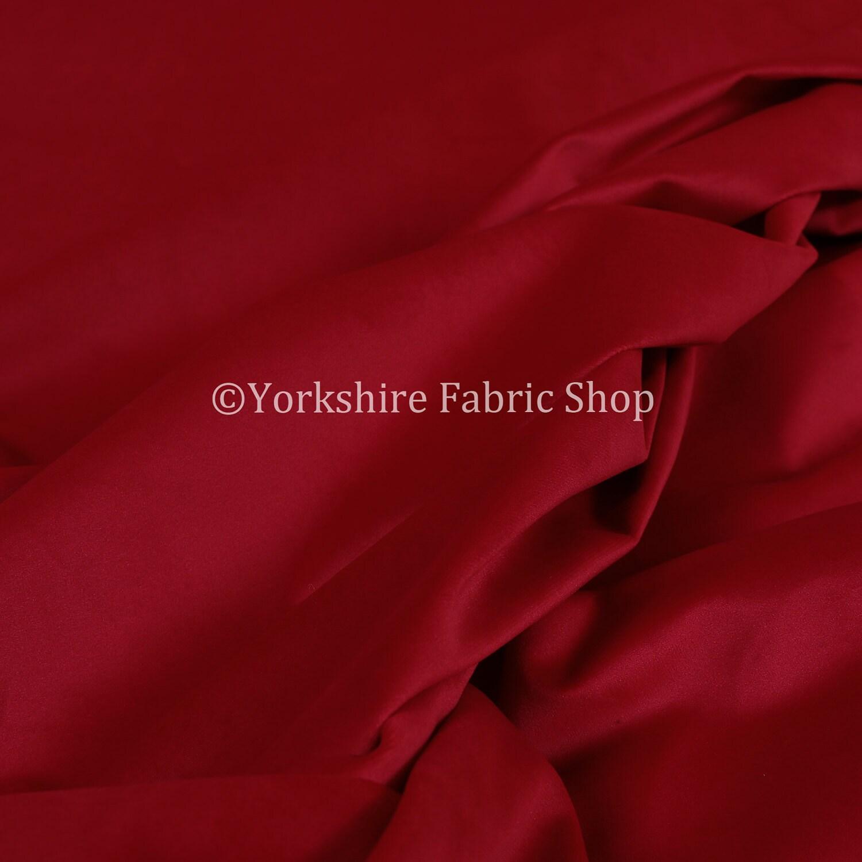 Nouveau Designer doux peluche Uni velours brillant moderne ameublement ameublement ameublement Rideau tissus de couleur rouge - vendu par 10 mètres tissu d'ameublement 4e6ca5