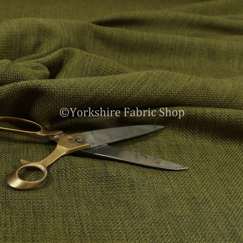 Un mobilier moderne nouveau Uni Uni Uni texturé Uni vert natté Jacquard d'ameublement tissu d'ameublement - vendu par les 10 mètres 4a4d2d