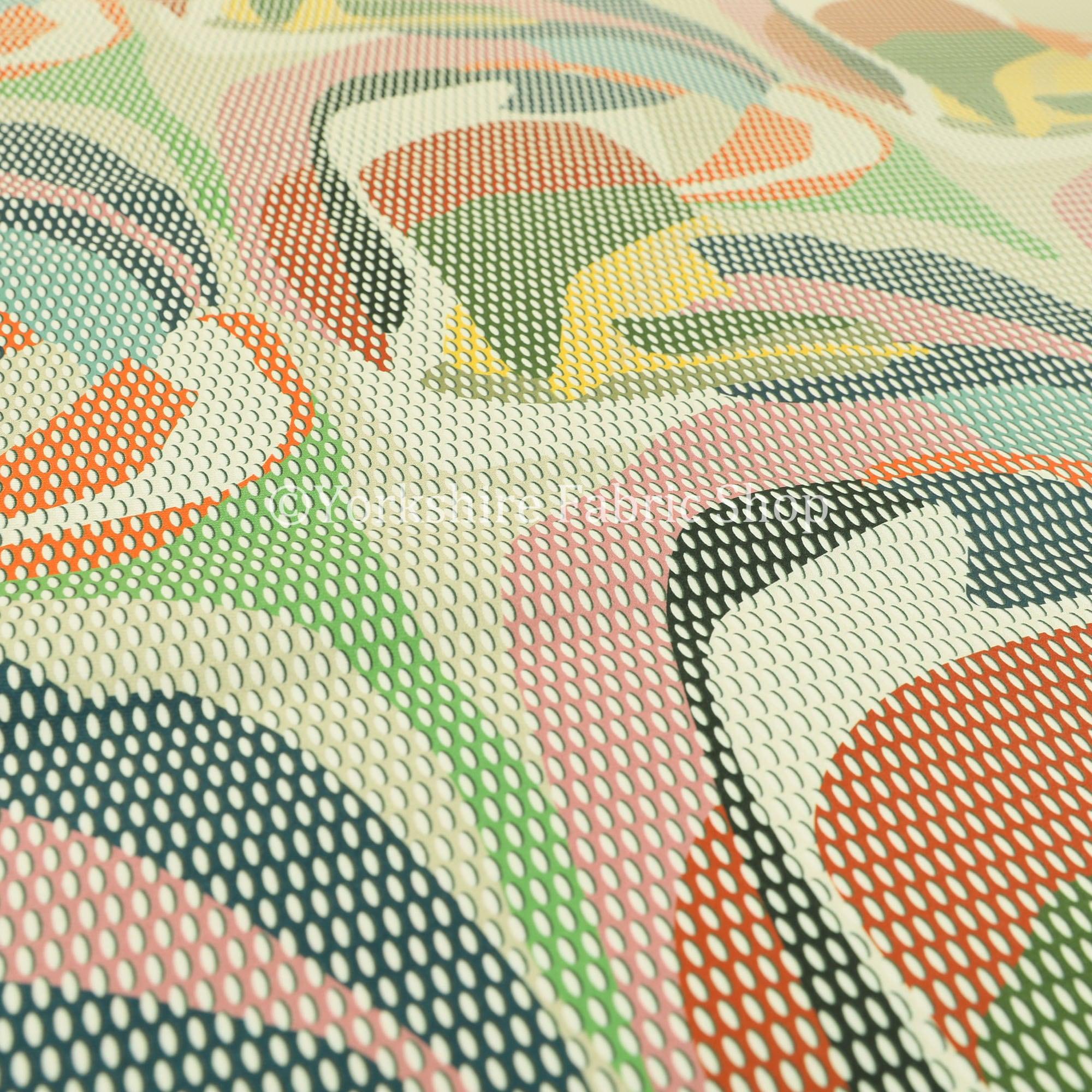 Nouveau colorés géométriques abstraites impression impression impression velours velours Rideau tissus d'ameublement - vendus par le tissu de longueur de 10 mètres 29bee8