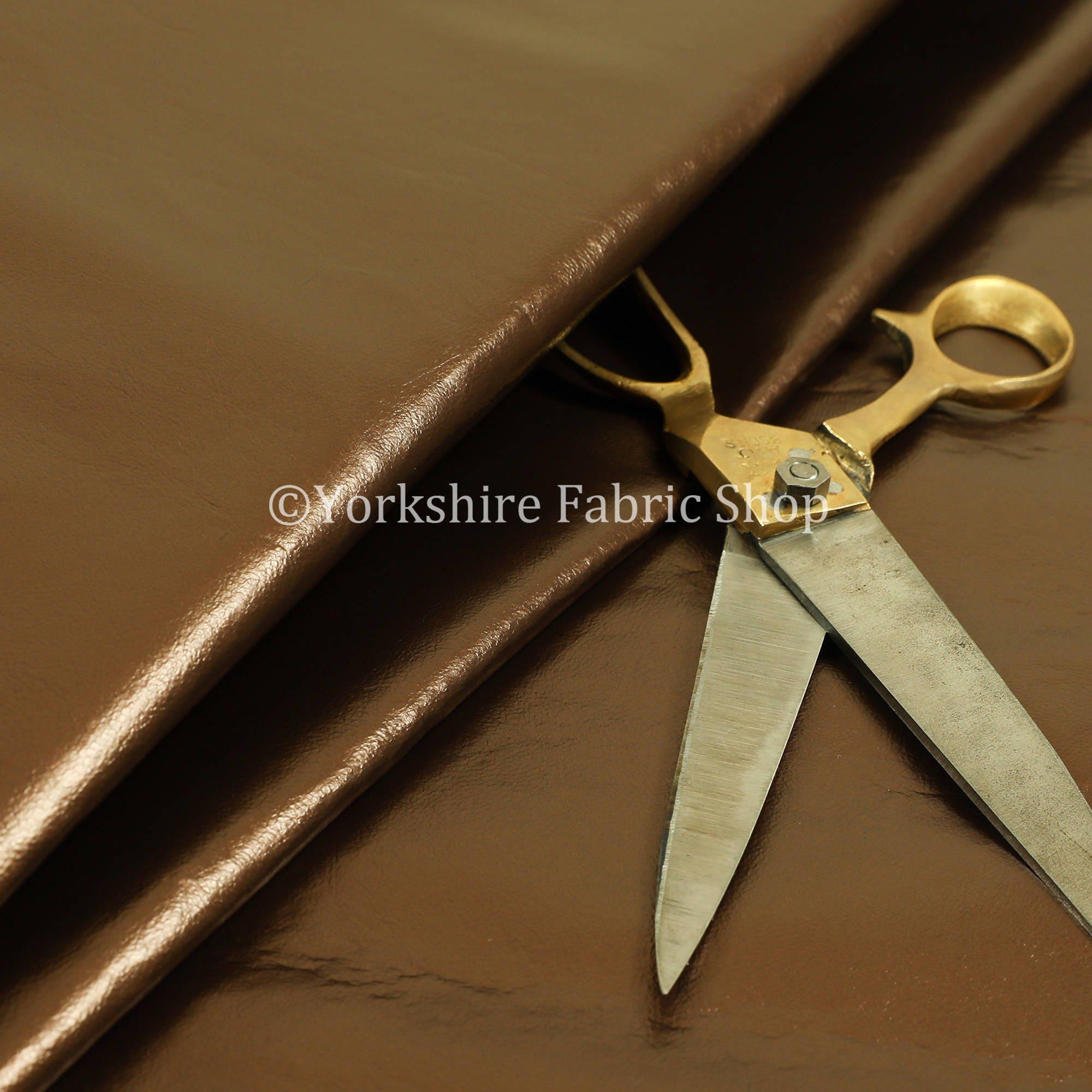 Lustre doux vinyle Bronze simili simili simili cuir sellerie tissu parfait pour ameublement - vendu au mètre 10 7998c4