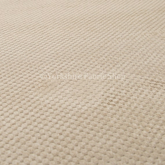 Soft Plain Dotted Effect Cord Silver Colour Quality Textile Upholstery Fabrics