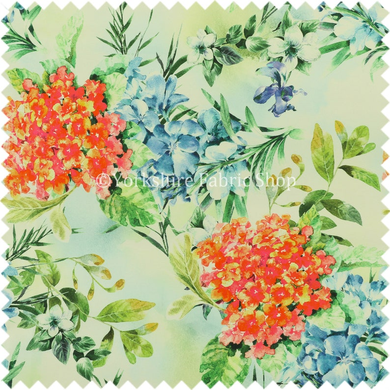 Red Lilies Colourful Floral Pattern Velour Velvet Curtains Upholstery Fabrics Sold By The 10 Metre Length Fabric