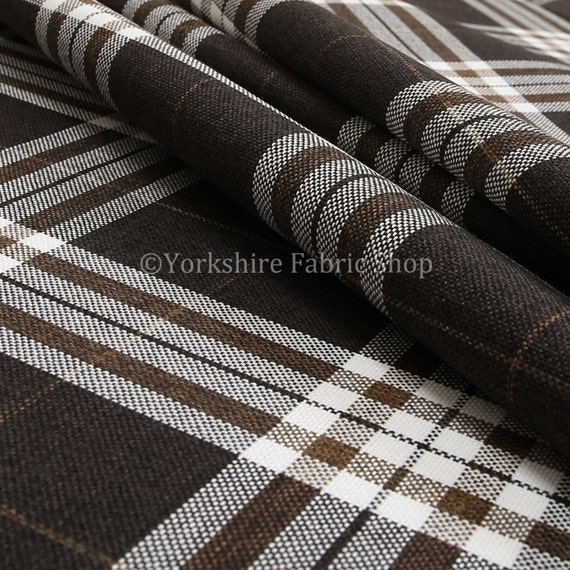 10 meter von schottischen thema tartan karomuster chenille etsy. Black Bedroom Furniture Sets. Home Design Ideas