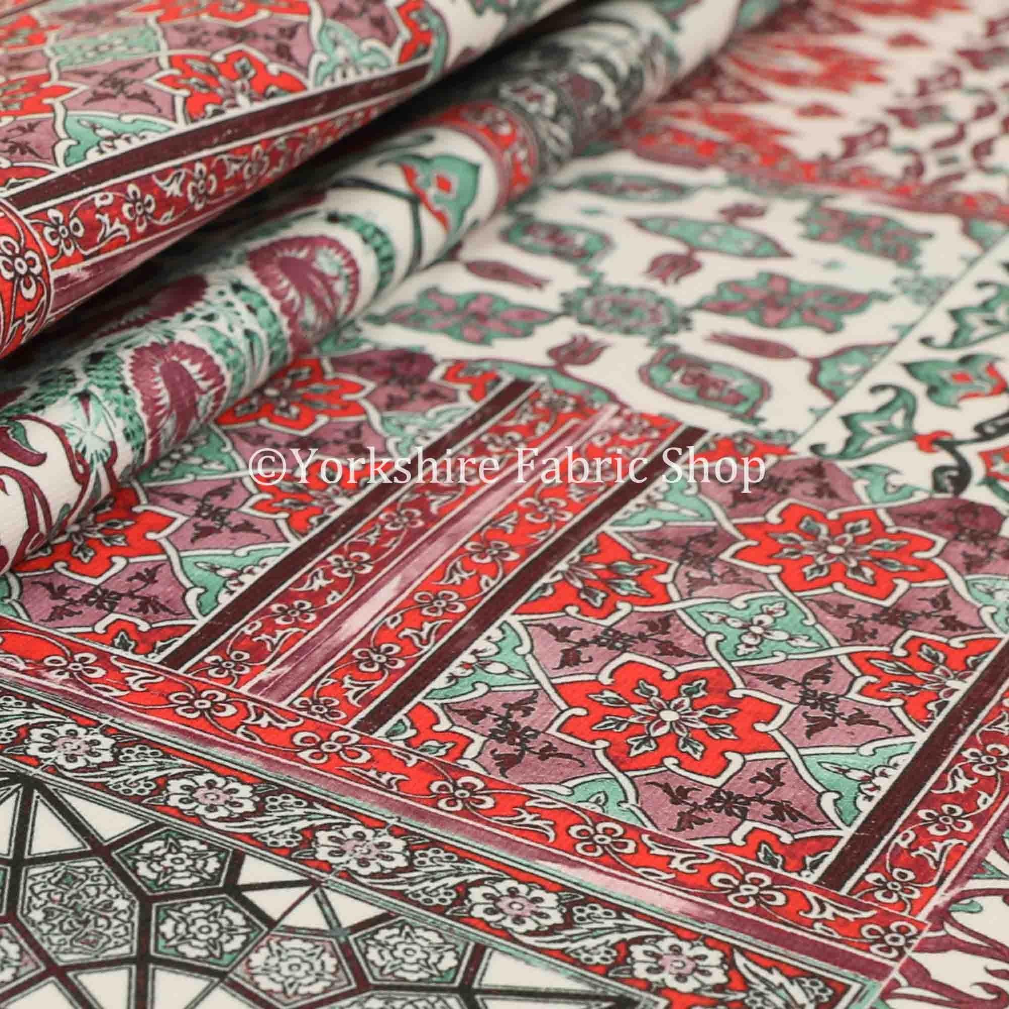 Couleur rouge vert nouveau Patchwork imprimé velours velours Rideau Rideau Rideau tissus d'ameublement - vendus par le tissu de longueur de 10 mètres 6d0bcd