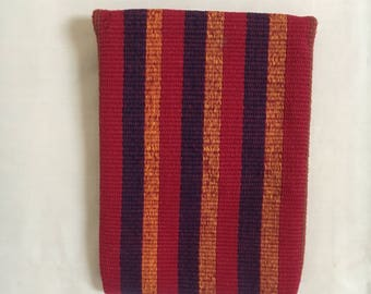 Woven vintage pouch from Teotitlan