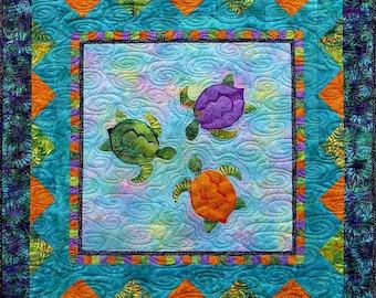 Turtle Talk quilt pattern