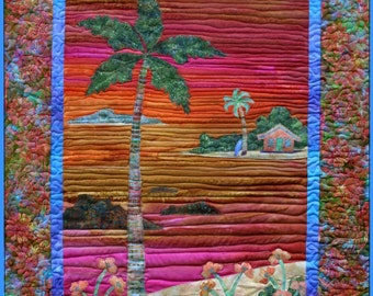 Maui Sunset quilt pattern