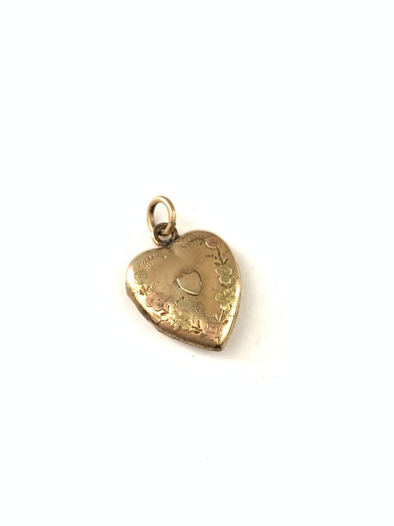 Beautiful Antique Victorian Heart Locket, Victoria
