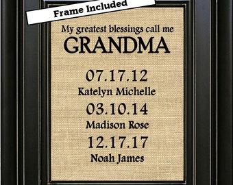 Grandma gift ideas | Etsy
