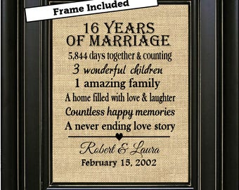 16 years together anniversary husband women boyfriend