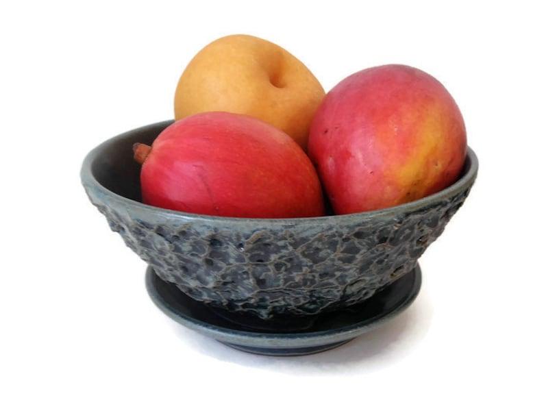 Ceramic Handmade Wheel-Thrown BumpiLumpi Medium Sized Fruit image 0