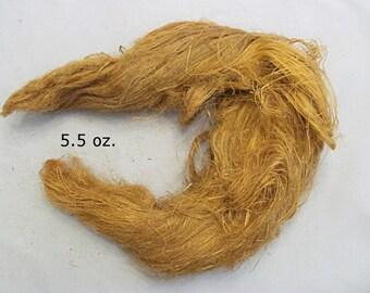 Linen Strick, Line Flax, Unprocessed, Natural Color, 5.5 Ounces
