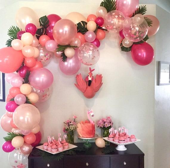 Balloon Garland DIY Balloon Garland Kit Flamingo Party