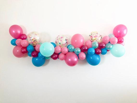 Sierstrip Chroom Badkamer : Balloon garland flamingo balloons diy balloon garland kit etsy