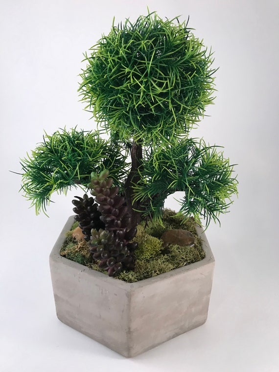 Bonsai Ball Planter Bonsai Planter Bonsai Artificial Etsy