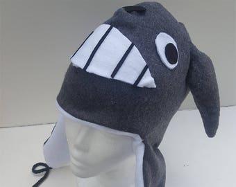 Fleece Totoro Hat