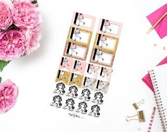Addie on a Date | Planner Stickers | Addie Collection