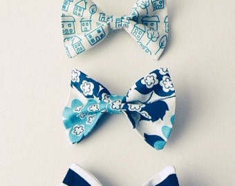 Fabric hairbows for college age girls and younger