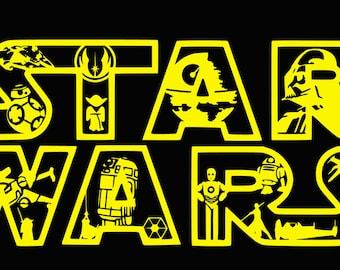 Star wars,Star wars svg,jedi svg ,luke skywalker svg ,yoda svg,star wars life, star wars logo,star war shirt ,star wars cut file,star wars