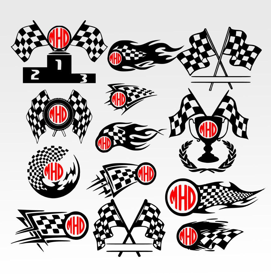 Race Flag Racing,flag, Checkered, Race, Race Flag Svg