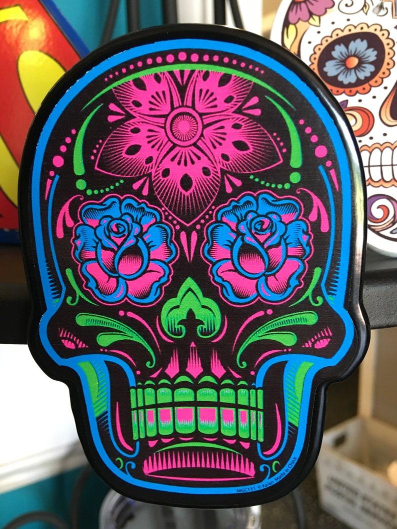 Sugar Skull Receiver Hitch Cover image 0