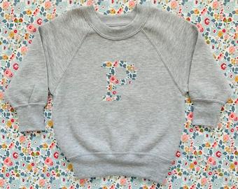 Liberty of London personalised children's jumper - grey