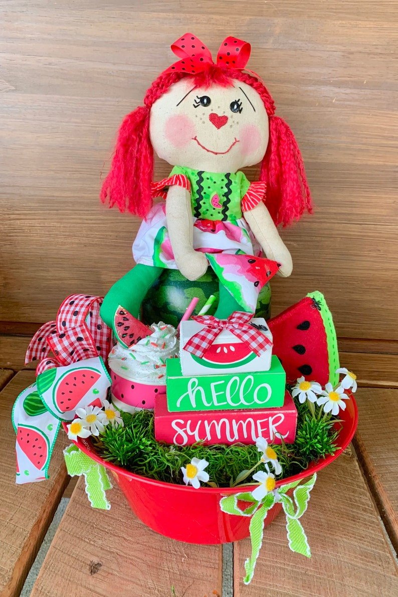 Cute Watermelon Centerpiece