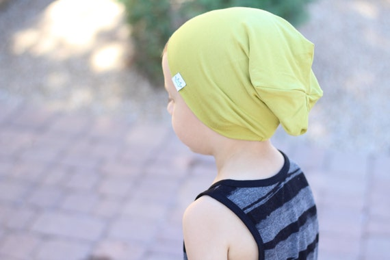 b9eb9f2e Toddler slouch beanie / Hipster toddler beanie / Lime hipster beanie / Slouchy  baby beanie / Slouchy knit hat / Hipster baby boy