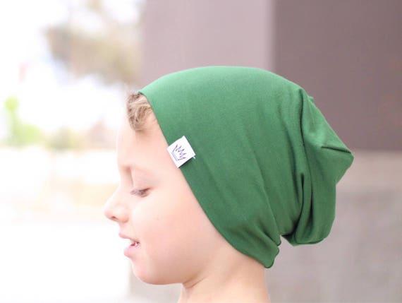 Green slouch beanie   Slouchy baby beanie boy   Hipster  9edfb4ebb9e