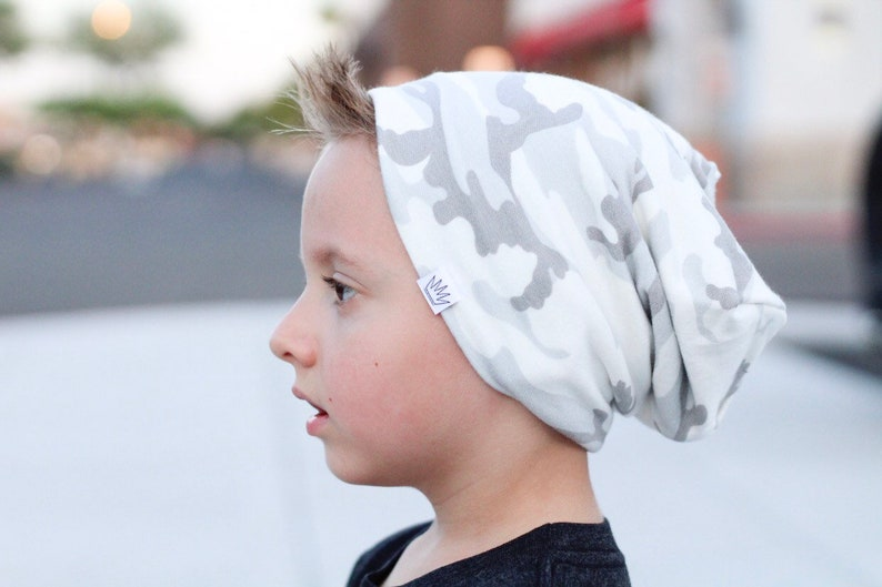 14291943 Camo Toddler beanie / Slouchy baby beanie / Hipster toddler   Etsy