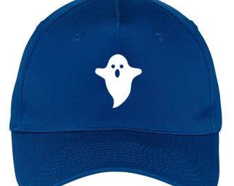 Ghost Glow in the Dark Graphic Printed 5 Panel Twill Caps for Men   Women  (5t-001-bc) c3efb17758