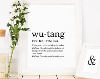 Wu Tang Etsy