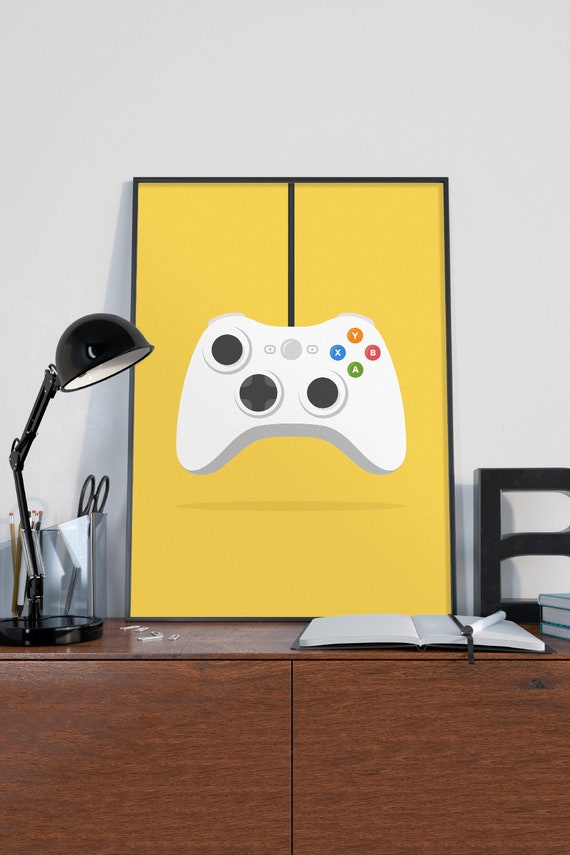 Video Game Decor Video Game Wall Art Game Room Decor Gamer Etsy