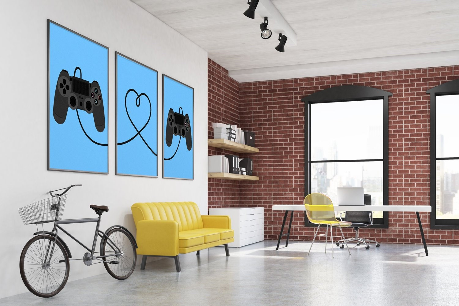 Video Game Decor Player 1 Player 2 Gamer Gifts For Him Her Etsy - 10-geek-furniture-designs