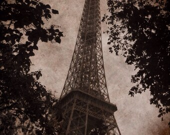 11 x 14 Eiffel Tower/Paris Print