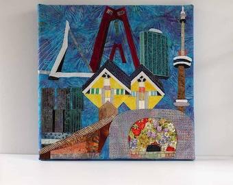 Art quilt Rotterdam
