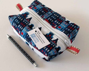 pencil case, canal houses