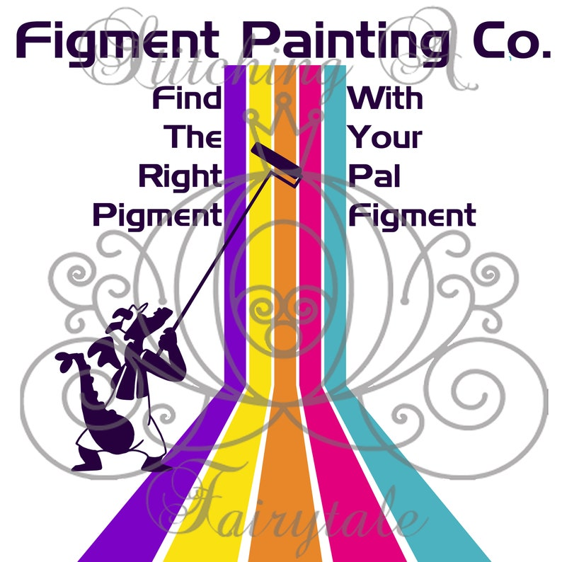 Disney EPCOT Inspired Figment Painting Co SVG PNG Cut File Shirt