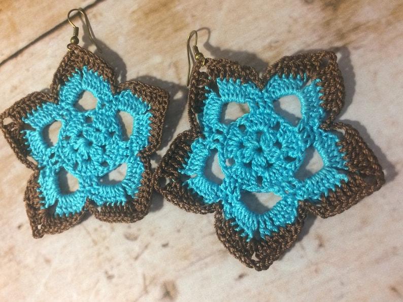 19 One Crochet Earrings Pattern Crochet Earring Pattern Pdf Etsy