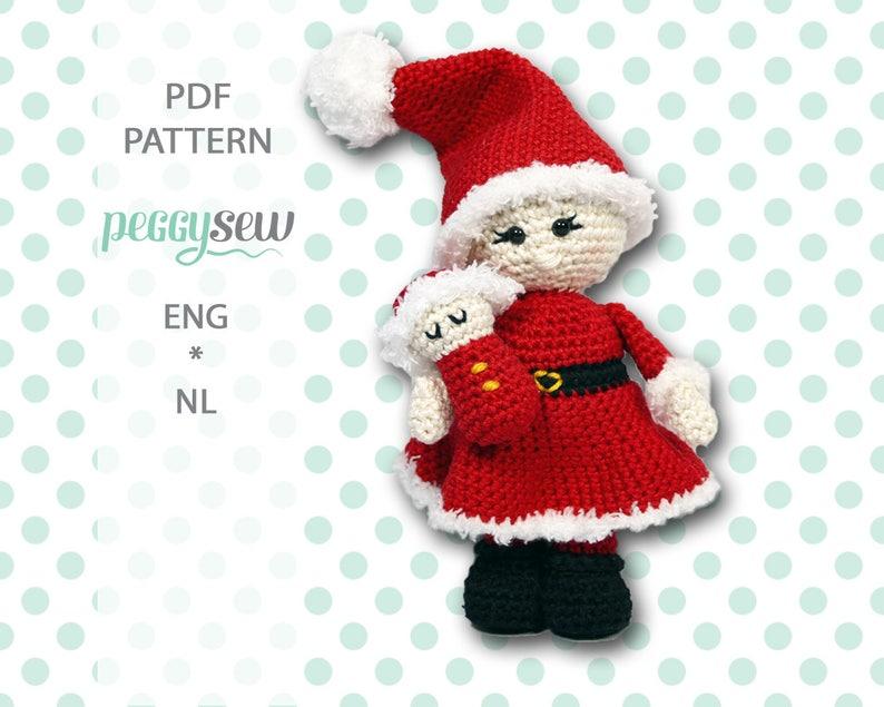 Santa Claus Crochet Amigurumi Pattern – Snacksies Handicraft   635x794