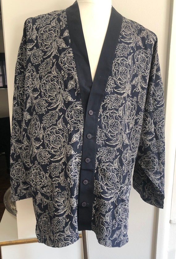 Gianni Versace Vintage  Mens Silk Pajamas from the