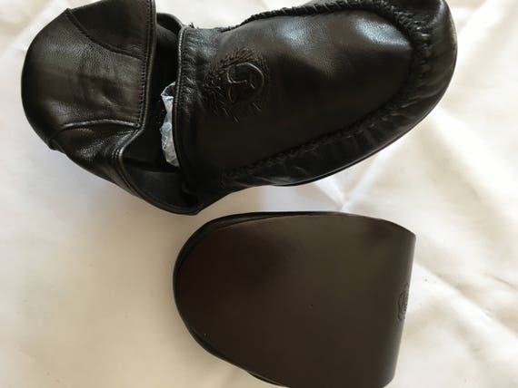 Gianni Versace Leather Travel Slippers in Leather… - image 5