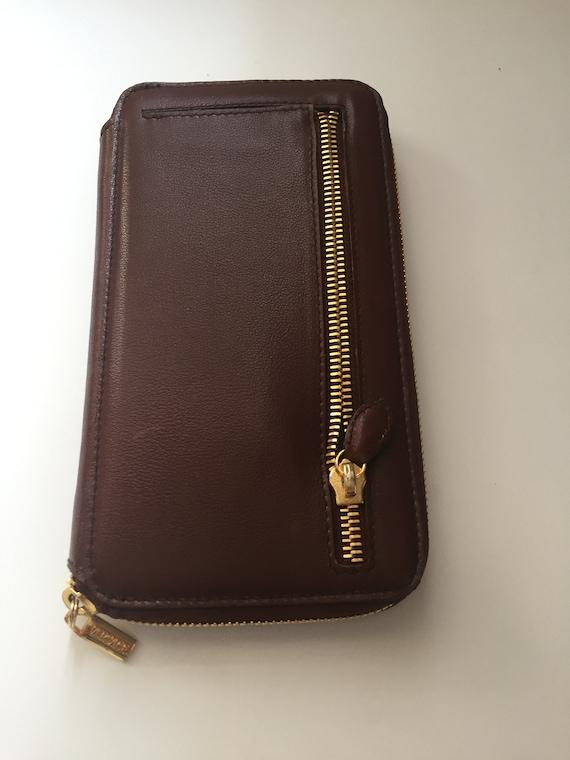 Vintage Gianni Versace Brown Wallet