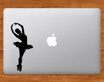 Ballerina Decal MacBook Sticker
