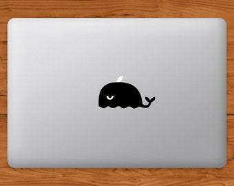 Whale MacBook Decal Laptop Sticker