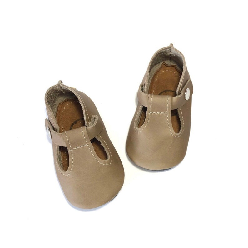 f4f52a1de3b83 Fossil T-Straps | Handmade Leather Baby Shoes, Baby Moccasins