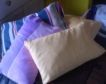 Pillowcase for travel pillow