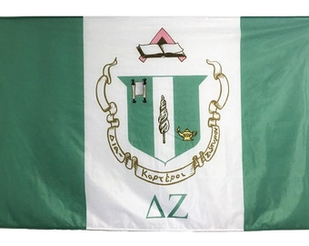 Delta Zeta Flag - 3' X 5' Officially Approved