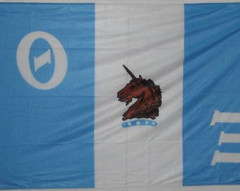 Theta Xi Flag - 3' X 5' Officially Approved